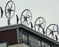 windmolen op dak